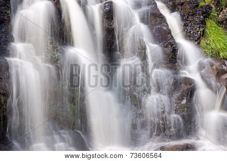 Detail of a small waterfall