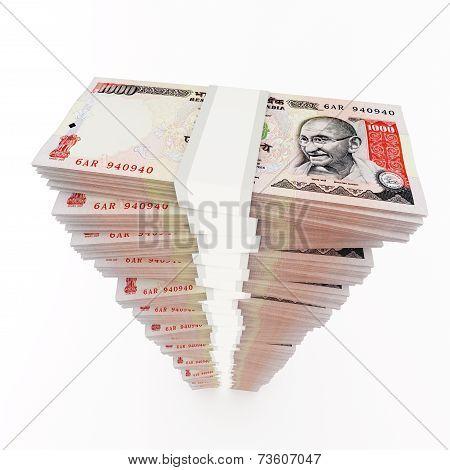 Rupee stack