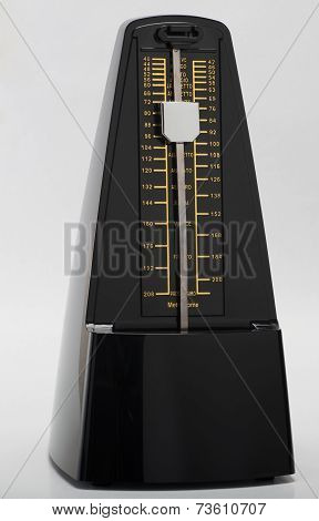 Metronome On White