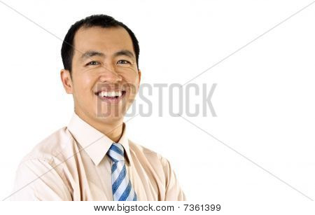 Happy Businessman Portrait