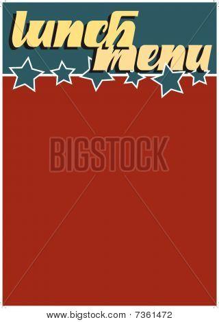 Americana Lunch menu