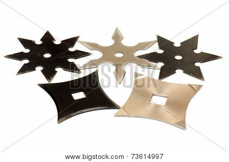 Five Shurikens