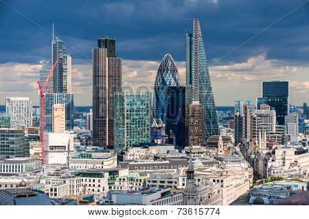 The City Of London In The Afternoon