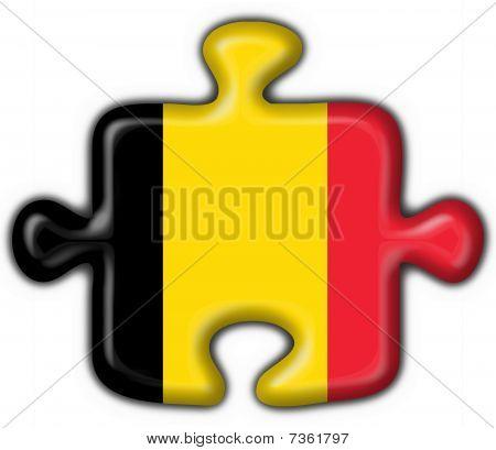 belgium button flag puzzle shape