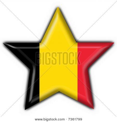 belgium button flag star shape