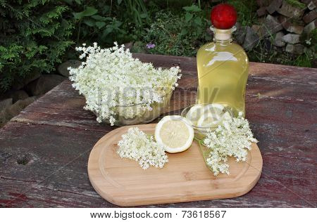 Syrup Of Flowers Elderberry