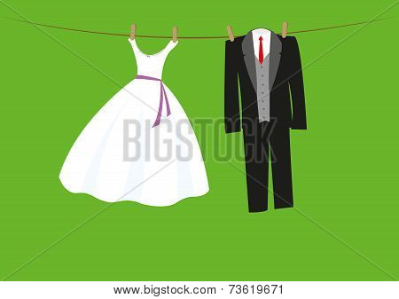 wedding clothes