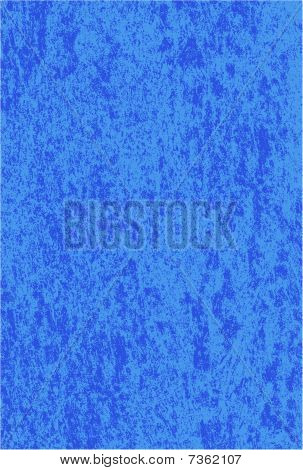 Vector Blue Marbled Grunge Texture
