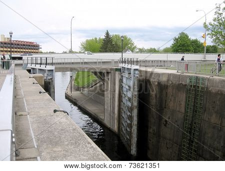 Rideau Canal Smiths Falls Lock 2008