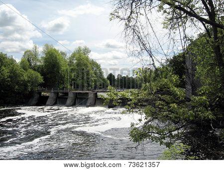 Rideau River Manotick Dam 2008