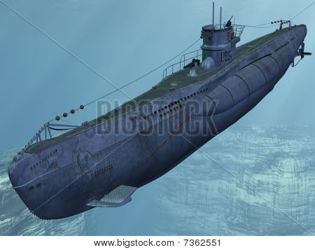 U99-German Submarine