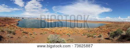Lake powell bryce canyon national park