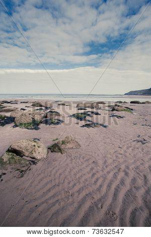 Seaside Beach Scene Portrait Format.tif