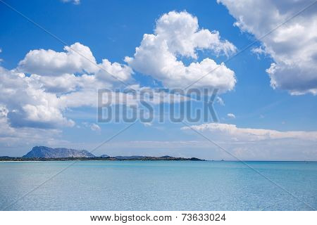 Panorama Of Idyllic Beach With Turquoise Water
