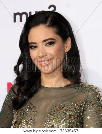 LOS ANGELES - OCT 10:  Edy Ganem at the 2014 NCLR ALMA Awards Arrivals at Civic Auditorium on October 10, 2014 in Pasadena, CA