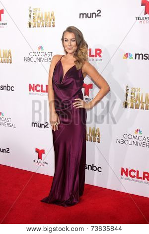 LOS ANGELES - OCT 10:  Alexa Vega at the 2014 NCLR ALMA Awards Arrivals at Civic Auditorium on October 10, 2014 in Pasadena, CA