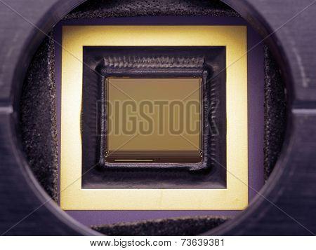 Ccd Camera Closeup