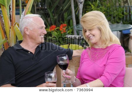 Senior Mature Couple