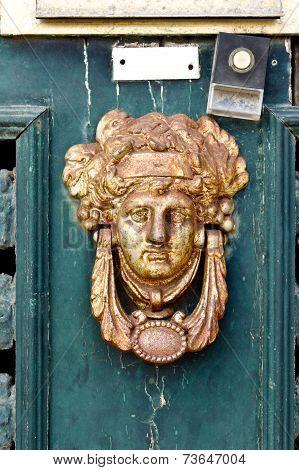 Old Rusty Door Knocker