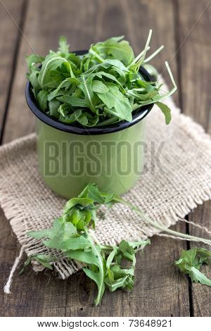 Bunch Of Fresh Rucola