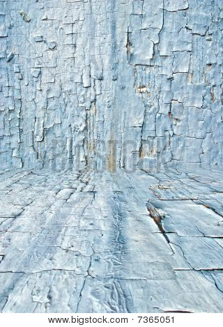 Cracked Paint Background