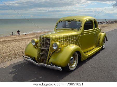 A Classic Ford Motor Car