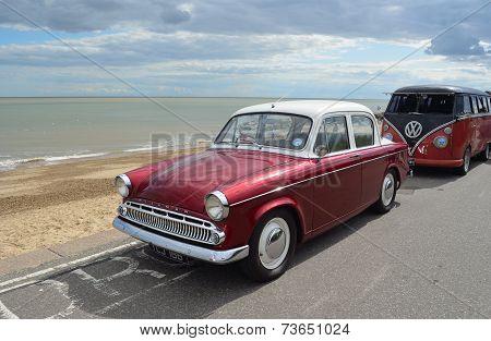 A Classic Hillman Motor Car