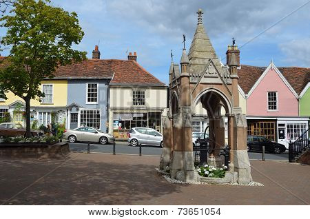 Woodbridge Market Square and Pump.