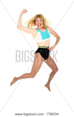 Jumping for Joy at Weight Loss 3