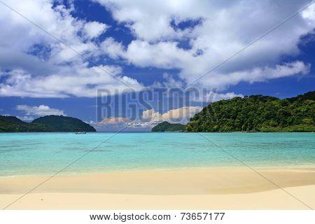 Wonderful Tropical  Beach