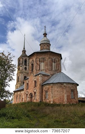 Church of St. Boris and Gleb (Borisoglebskaya). Suzdal, Golden Ring of Russia.