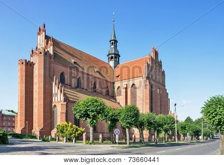 Cathedral In Pelplin, Poland