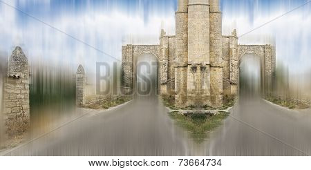 Monastery of San Anton Ruins, Castrojeriz, Spain