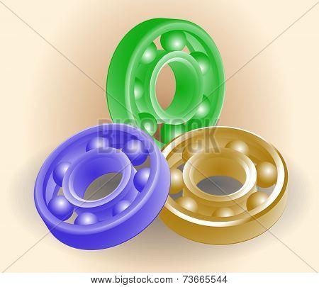Set Of Ball Bearings