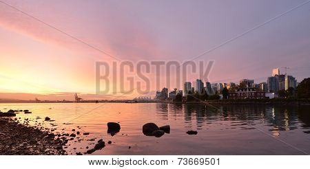 Downtown Vancouver Sunrise