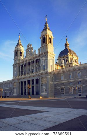 Cathedral of Saint Mary the Royal of La Almudena, Madrid, Spain