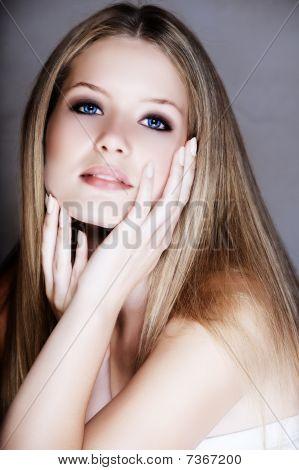 Blond Beautful Woman