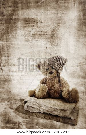Grunge Teddy Bear.