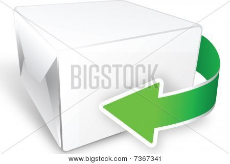box with arrow