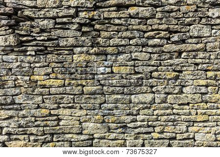 Background Old Stone Wall Texture