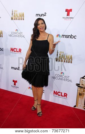 LOS ANGELES - OCT 10:  Constance Marie at the 2014 NCLR ALMA Awards Arrivals at Civic Auditorium on October 10, 2014 in Pasadena, CA