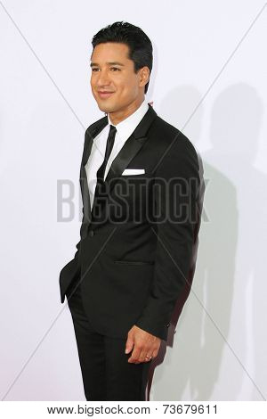 LOS ANGELES - OCT 11:  Mario Lopez at the Ferrari Celebrates 60 Years In America  at Wallis Annenberg Center for Performing Arts on October 11, 2014 in Beverly Hills, CA