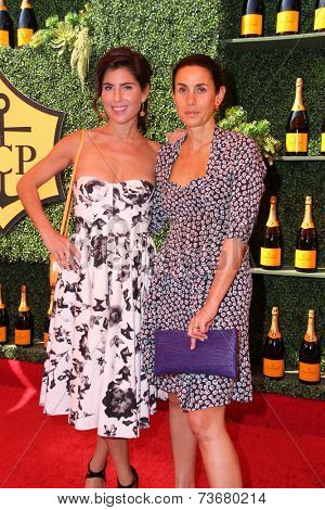 LOS ANGELES - OCT 11:  Vanessa Kay, Charlotte Sarkozy at the Fifth-Annual Veuve Clicquot Polo Classic at Will Rogers State Historic Park on October 11, 2014 in Pacific Palisades, CA
