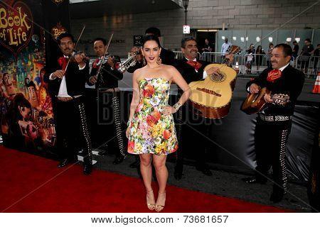 LOS ANGELES - OCT 12:  Ana de la Reguera at the