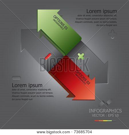 Modern Arrow Design Template