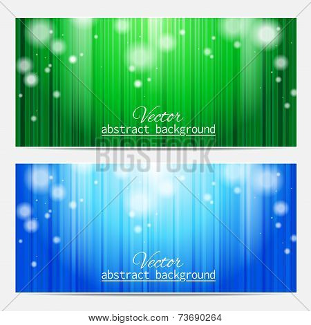 Abstract background with stripes and patches of light