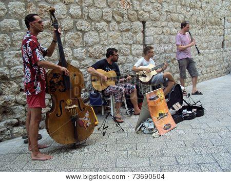 Street Musicians Dubrovnik