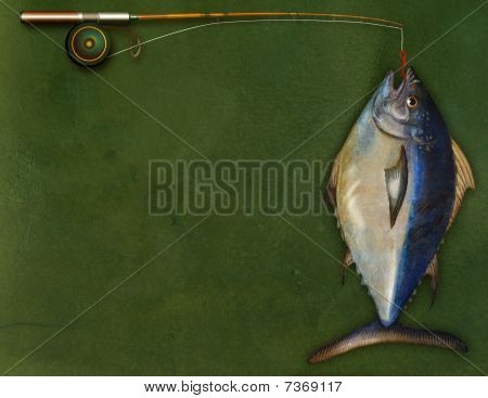 Fishing Rod and Fish