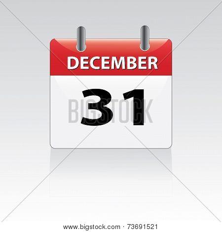December 31st calender
