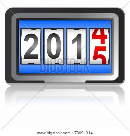 New Year counter